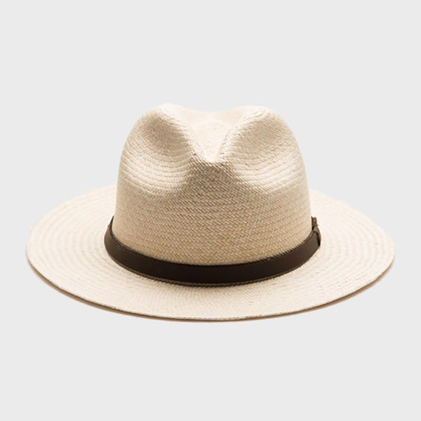 product: Yellow 108 Mateo Ecuador Straw Hat Natural