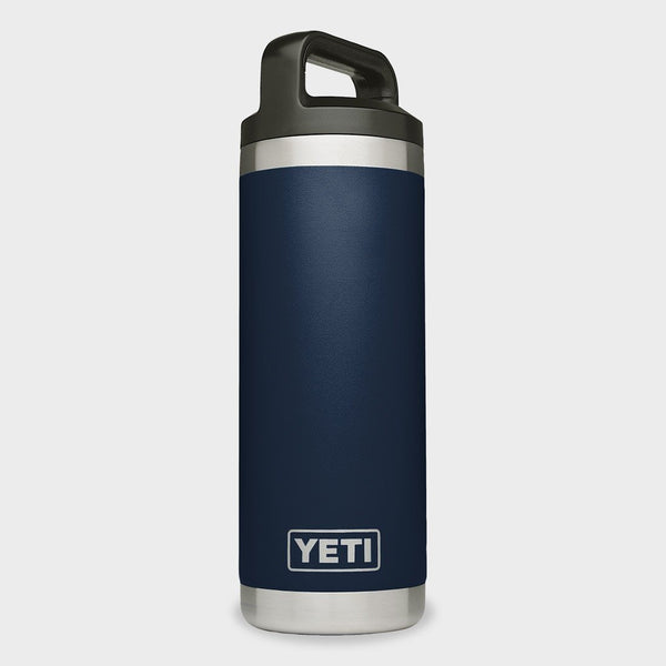 product: Yeti Rambler 18oz Bottle Navy