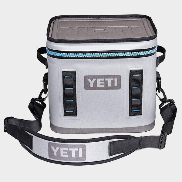 product: Yeti Hopper Flip 12 Grey/Tahoe Blue