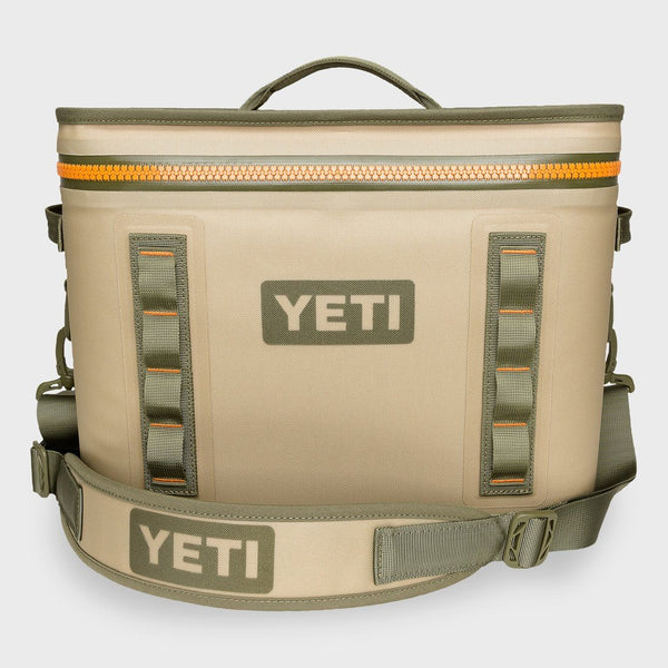 product: Yeti Hopper Flip 18 Soft Cooler Field Tan