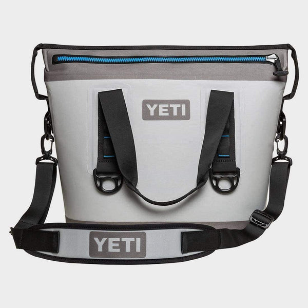 product: Yeti Hopper Two 20 Grey/Tahoe Blue