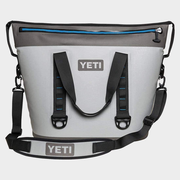 product: Yeti Hopper Two 40 Grey/Tahoe Blue