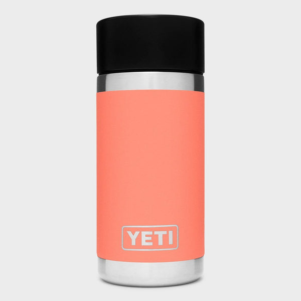 product: Yeti Rambler 12oz Bottle with Hotshot Cap Coral
