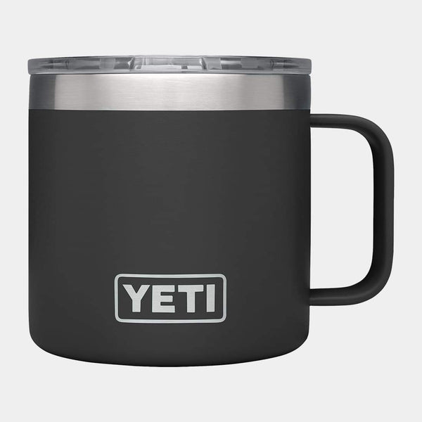 product: Yeti Rambler 14oz Mug Black