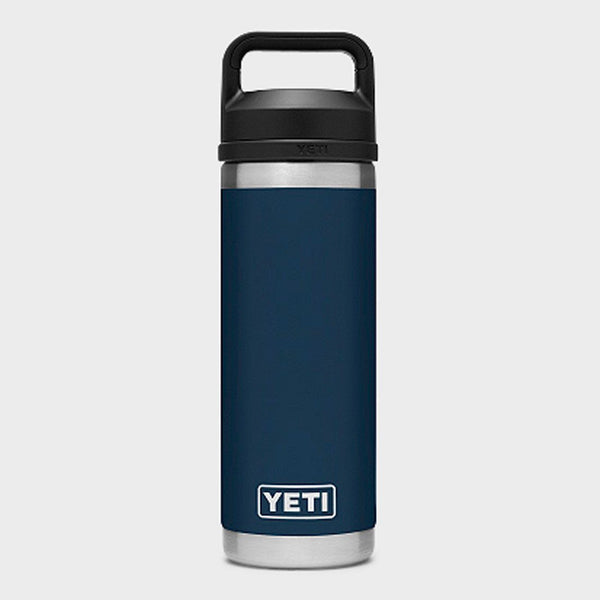 product: Yeti Rambler 18oz Bottle Chug Navy