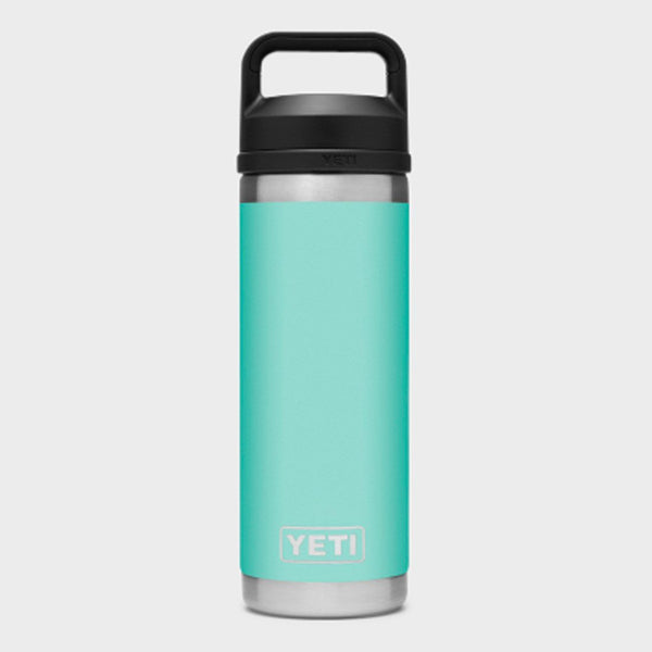 product: Yeti Rambler 18oz Bottle Chug Seafoam