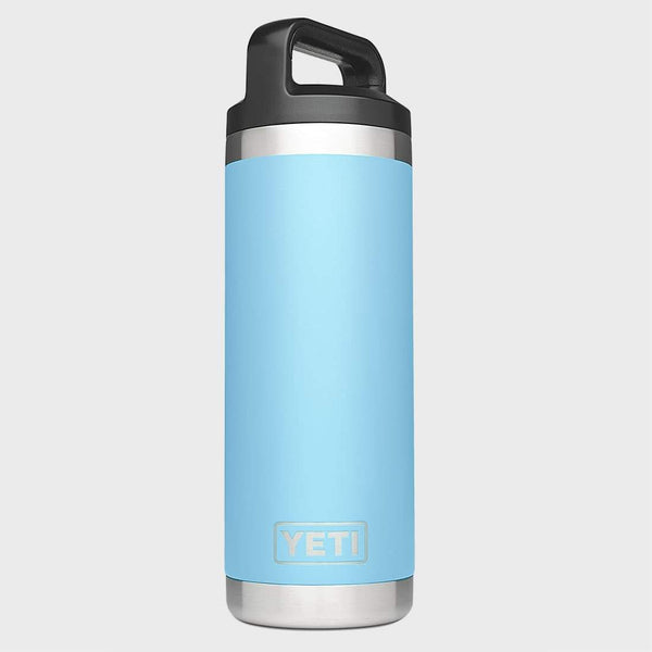 product: Yeti Rambler 18oz Bottle Sky Blue