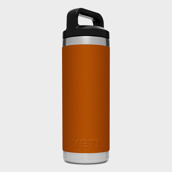 product: Yeti Rambler 18oz Bottle Clay