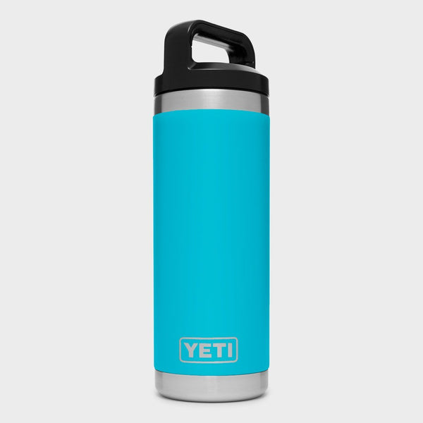 product: Yeti Rambler 18oz Bottle Reef Blue