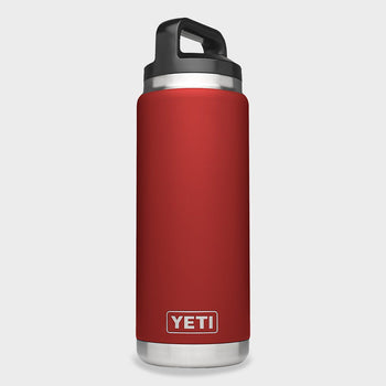 product: Yeti Rambler 26oz Bottle Brick Red
