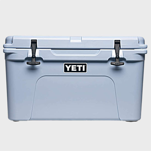 product: Yeti Tundra 45 Ice Blue