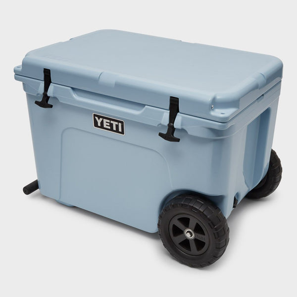 product: Yeti Tundra Haul Wheel Cooler Blue