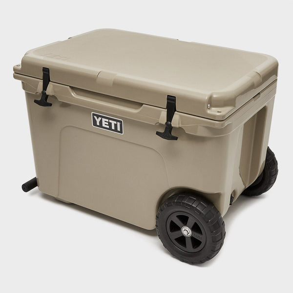 product: Yeti Tundra Haul Wheel Cooler Tan
