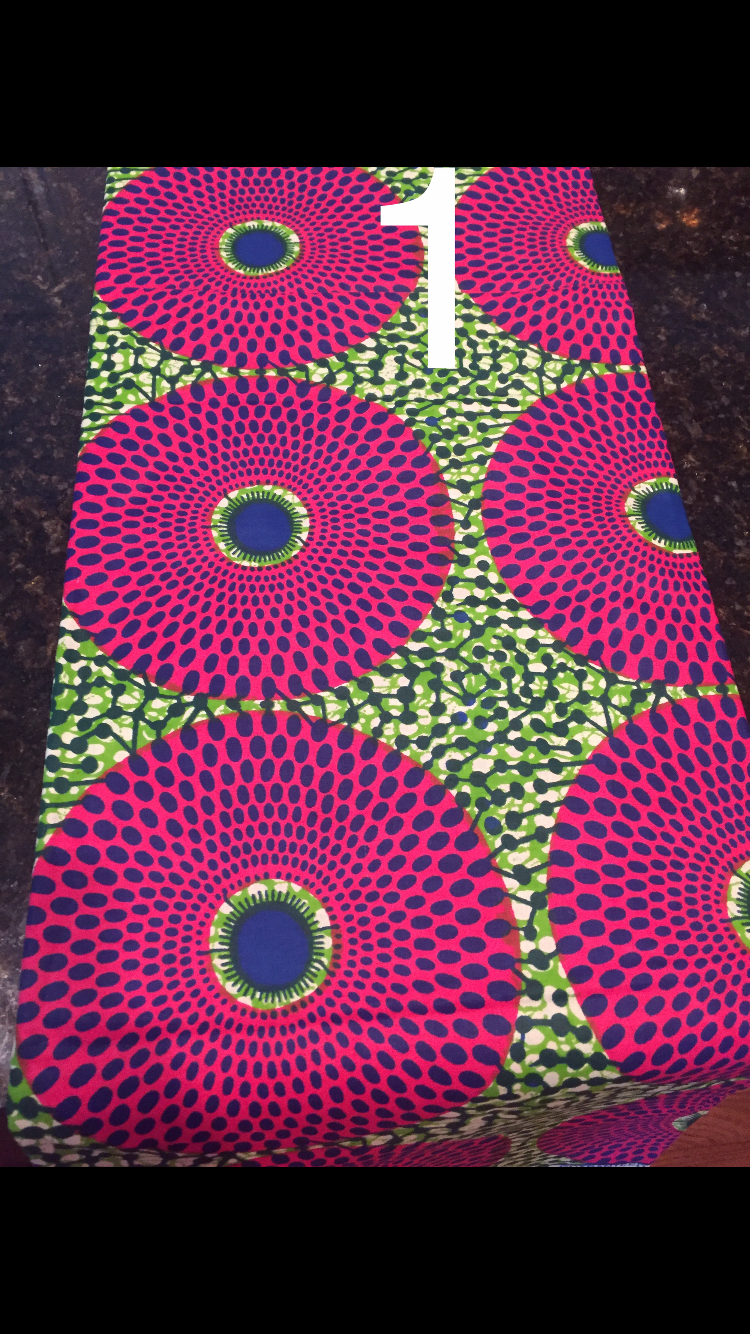 Ankara Fitted Pencil Skirt