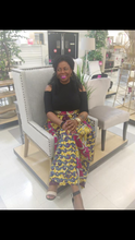 The Trinity Royalty Ankara Long Gathered Skirt