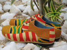 Ankara Kente Royalty Men's Shoes
