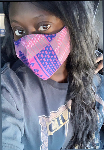 Ankara Sporty Face Mask