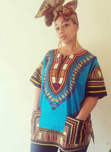 Dashiki Top (Various Colors)