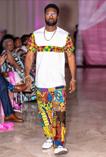Kojo Kente Top