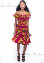 Kwenua Fitted Dress