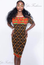 Akosia Fitted Dress