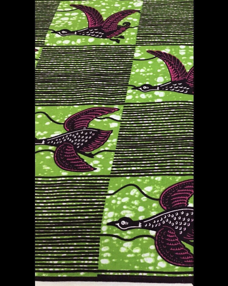 Green Ankara Birds
