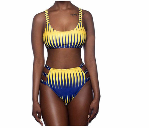 Nkrumah Pencil Two Piece Swimsuit