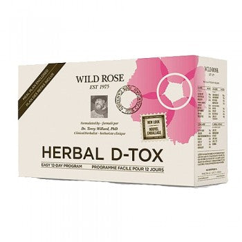 Cleansing: Wild Rose Herbal D Tox