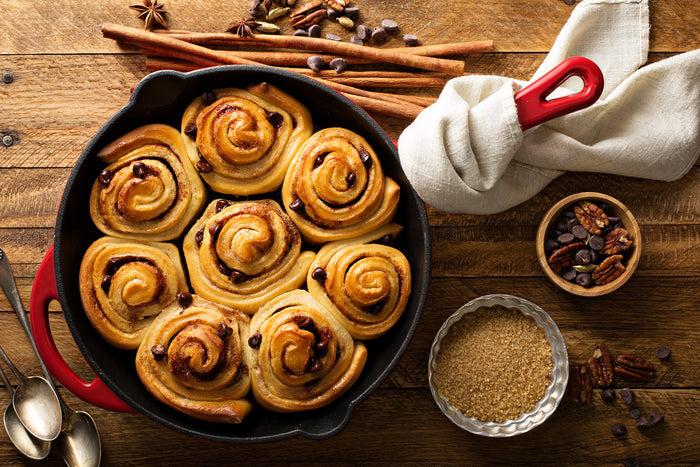Sticky Vegan Cinnabuns for National Sticky Bun Day!