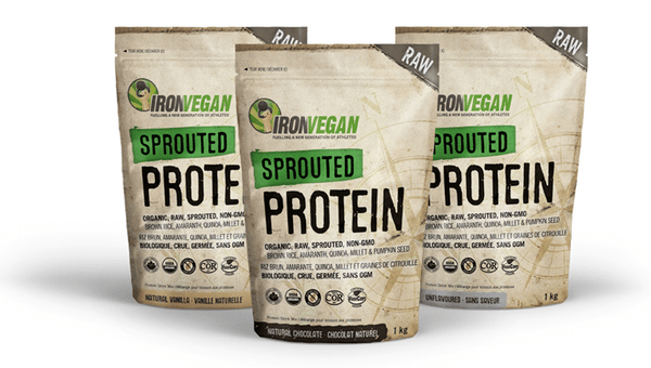 Iron Vegan – Sprouted Protien