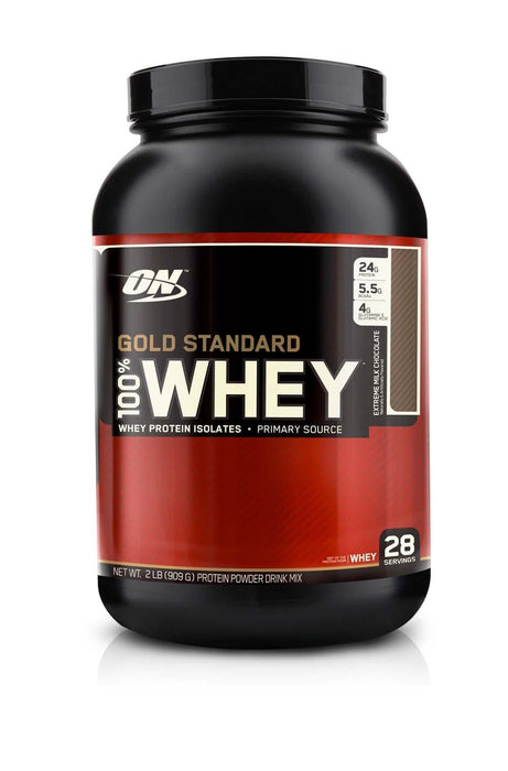 Optimum Nutrition Gold Standard 100% Whey - Extreme Milk Chocolate 2lb