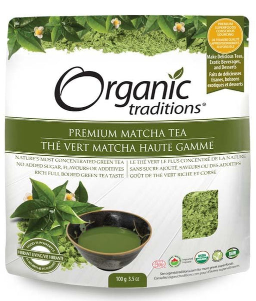 Organic Traditions Premium Matcha Tea