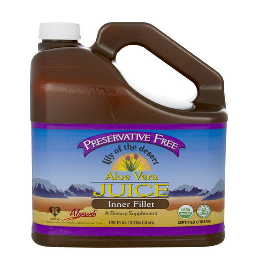 Lily of the Desert Aloe Vera Juice Inner Fillet 3.78 L
