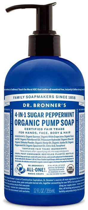 Dr. Bronner's Magic Soap Spearmint Peppermint Hand Soap