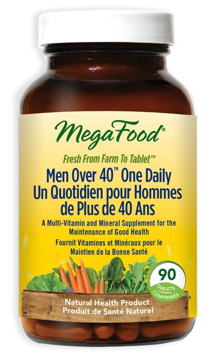 MegaFood Men Over 40 One Daily