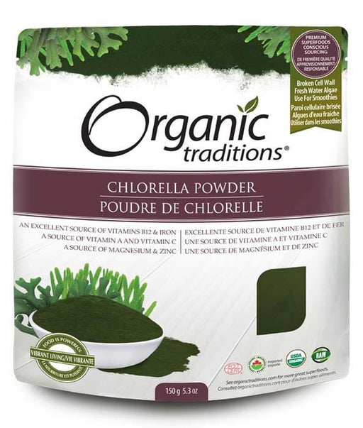 Organic Traditions Chlorella Powder