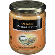 Nuts to You Nut Butter Organic Peanut Butter - Smooth