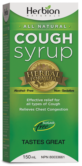 Herbion Naturals Cough Syrup Sugar Free