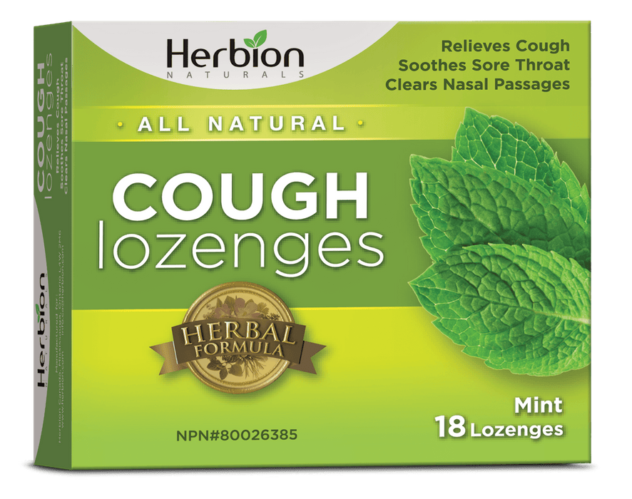 Herbion Naturals Cough Lozenges Mint