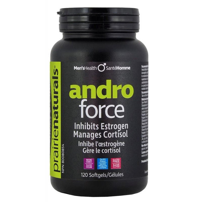 Prairie Natural Andro-Force 120 Softgels