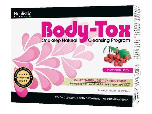 Healistic Planet Body-Tox 15-Day Cleansing Program Hawthorn Berry