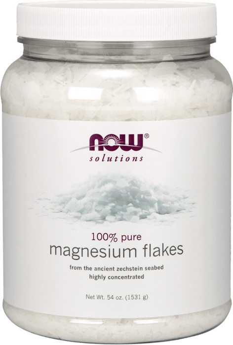 NOW Magnesium Flakes 1531 g