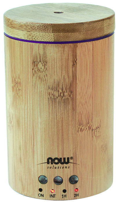 Now Ultrasonic Real Bamboo Oil Diffuser