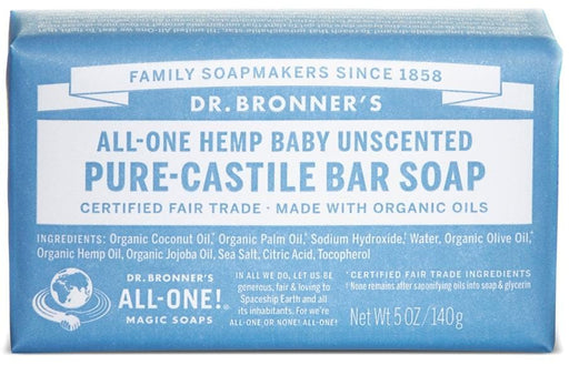 Dr. Bronner's Magic Soap Baby-Mild Bar Soap