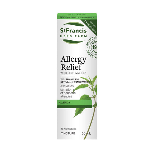 St Francis Herb Farm Deep Immune for Allergies 50 ml