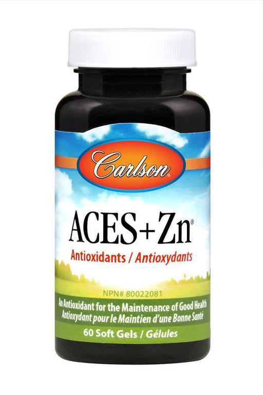 Carlson Laboratories Aces + Zn 60 Softgels