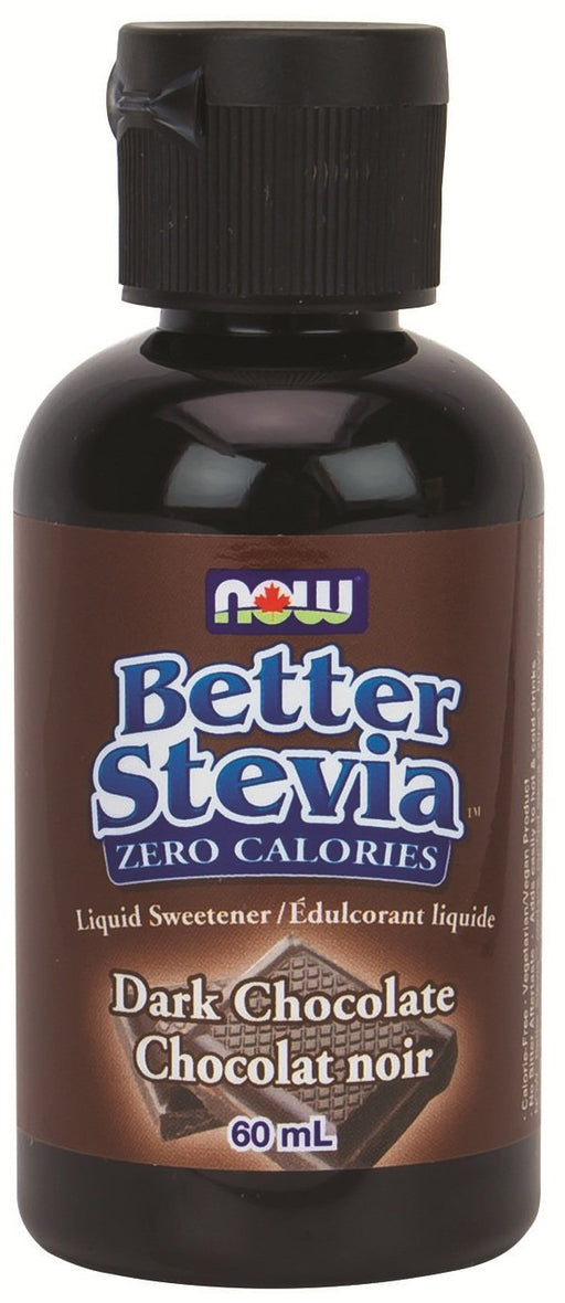 NOW Stevia Liquid Extract (Dark Chocolate ) 60mL