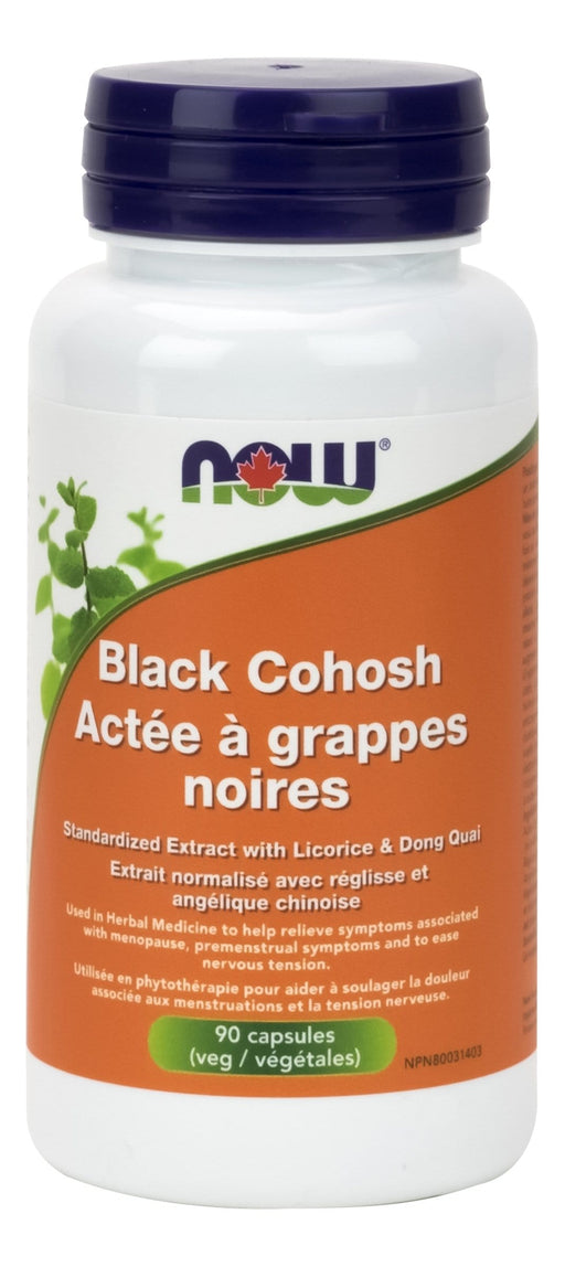 NOW Black Cohosh 2.5% Extract 80mg 90 V-Caps