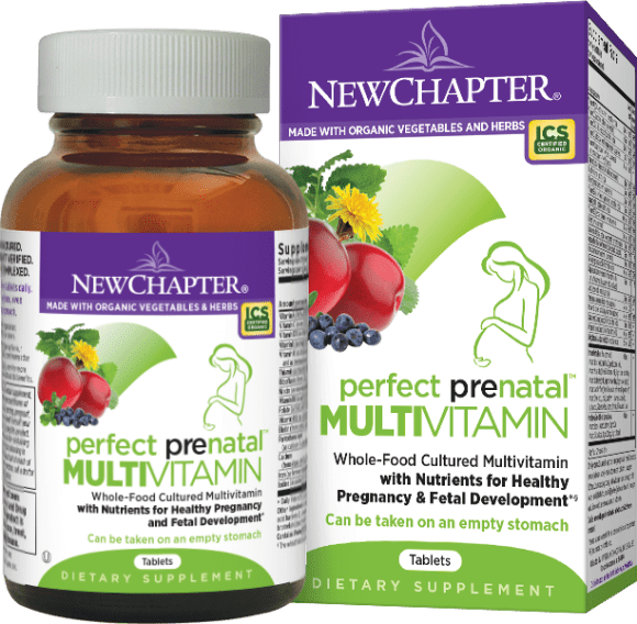 New Chapter Perfect Prenatal 192 Tablets (Short Dated)