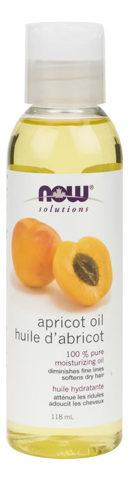 NOW Pure Apricot Moisturizing Oil